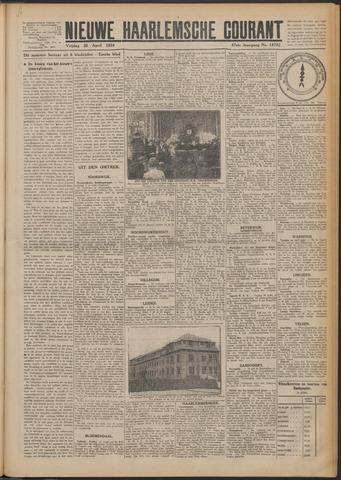 Nieuwe Haarlemsche Courant 1924-04-25