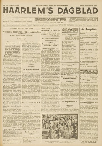 Haarlem's Dagblad 1935-08-20