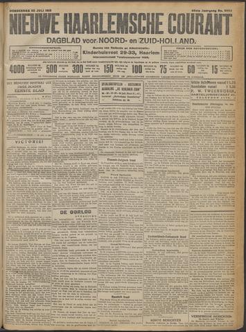 Nieuwe Haarlemsche Courant 1915-07-22