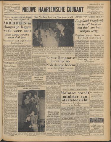 Nieuwe Haarlemsche Courant 1956-11-22