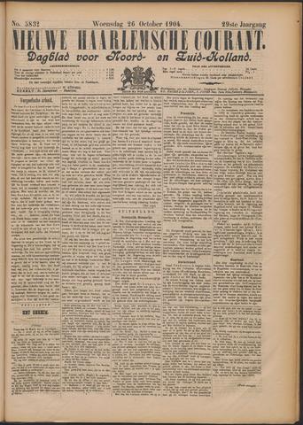 Nieuwe Haarlemsche Courant 1904-10-26