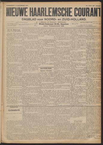 Nieuwe Haarlemsche Courant 1907-11-14
