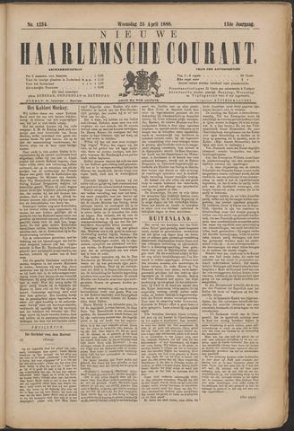 Nieuwe Haarlemsche Courant 1888-04-25