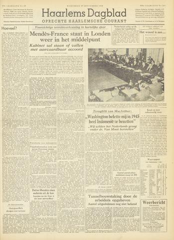 Haarlem's Dagblad 1954-09-29