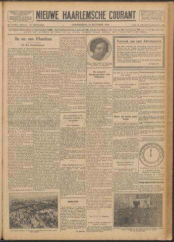 Nieuwe Haarlemsche Courant 1928-10-25