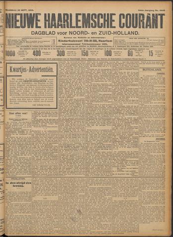 Nieuwe Haarlemsche Courant 1909-09-20