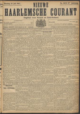Nieuwe Haarlemsche Courant 1907-07-16
