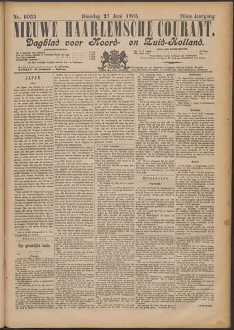 Nieuwe Haarlemsche Courant 1905-06-27