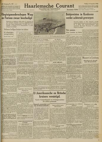 Haarlemsche Courant 1942-08-14