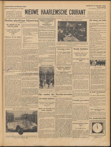 Nieuwe Haarlemsche Courant 1934-03-27