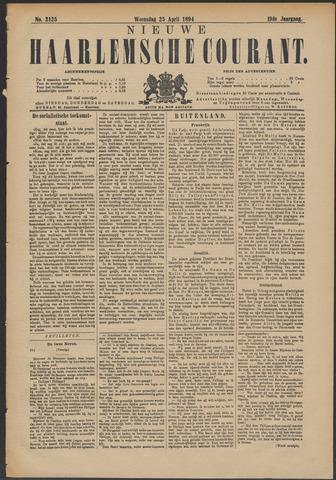 Nieuwe Haarlemsche Courant 1894-04-25