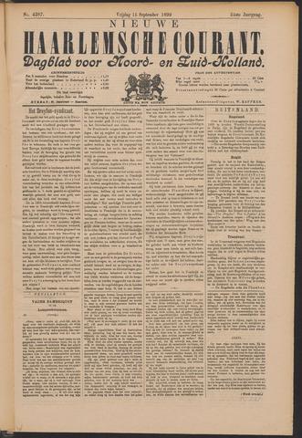 Nieuwe Haarlemsche Courant 1899-09-15