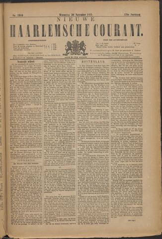 Nieuwe Haarlemsche Courant 1892-11-30