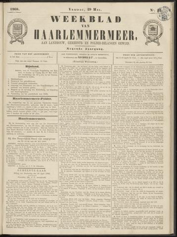 Weekblad van Haarlemmermeer 1868-05-29