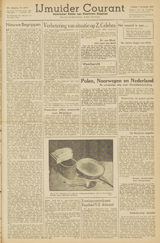 IJmuider Courant 1945-12-07