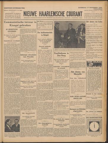 Nieuwe Haarlemsche Courant 1934-11-17