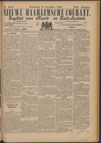 Nieuwe Haarlemsche Courant 1905-11-15