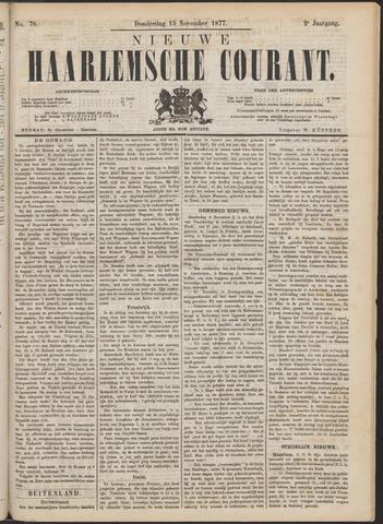 Nieuwe Haarlemsche Courant 1877-11-15