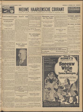 Nieuwe Haarlemsche Courant 1938-11-10