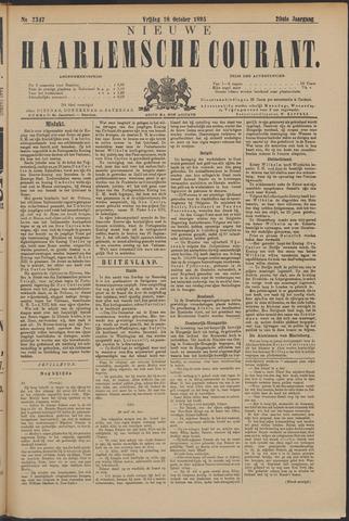 Nieuwe Haarlemsche Courant 1895-10-18