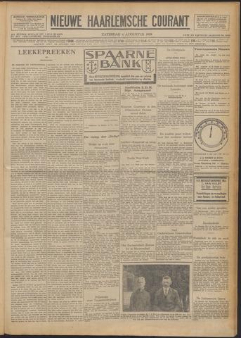 Nieuwe Haarlemsche Courant 1928-08-04