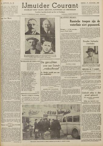 IJmuider Courant 1939-12-12