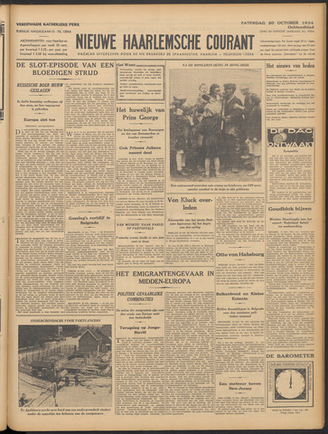 Nieuwe Haarlemsche Courant 1934-10-20