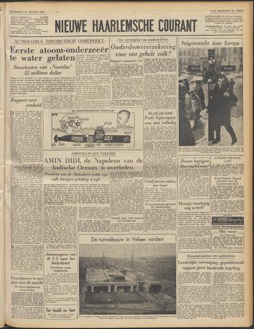 Nieuwe Haarlemsche Courant 1954-01-21