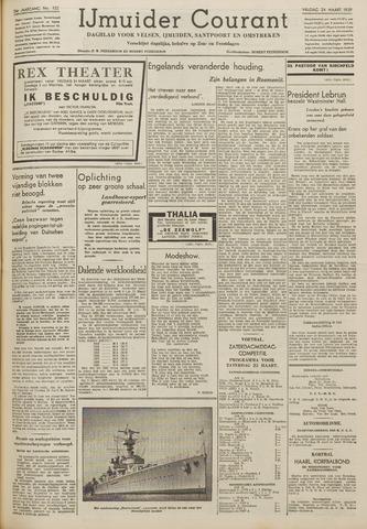IJmuider Courant 1939-03-24