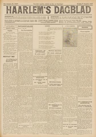Haarlem's Dagblad 1926-08-17