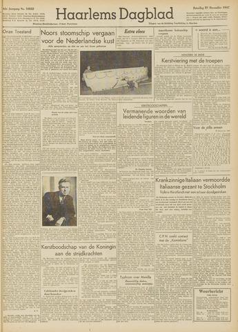 Haarlem's Dagblad 1947-12-27