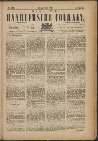 Nieuwe Haarlemsche Courant 1889-06-02