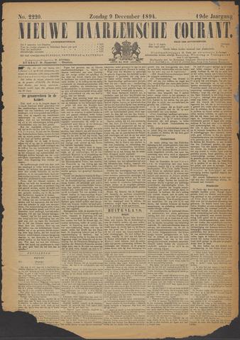Nieuwe Haarlemsche Courant 1894-12-09