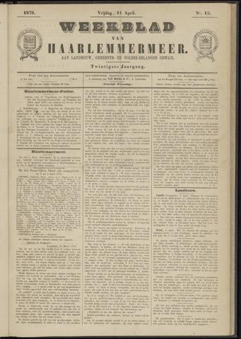 Weekblad van Haarlemmermeer 1879-04-11