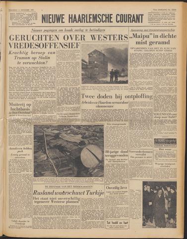 Nieuwe Haarlemsche Courant 1951-11-05