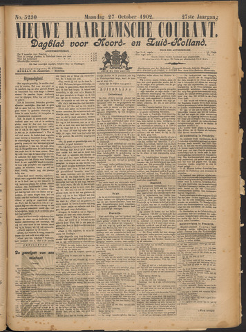 Nieuwe Haarlemsche Courant 1902-10-27