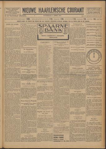 Nieuwe Haarlemsche Courant 1931-04-04