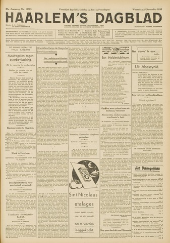 Haarlem's Dagblad 1935-11-27