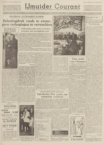 IJmuider Courant 1959-10-20