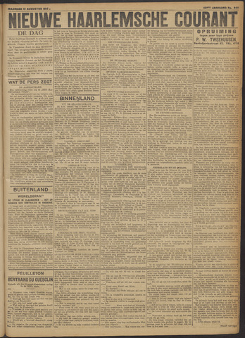 Nieuwe Haarlemsche Courant 1917-08-13