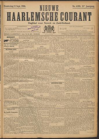 Nieuwe Haarlemsche Courant 1906-09-13