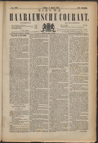 Nieuwe Haarlemsche Courant 1892-03-11