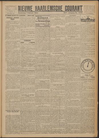 Nieuwe Haarlemsche Courant 1923-02-01