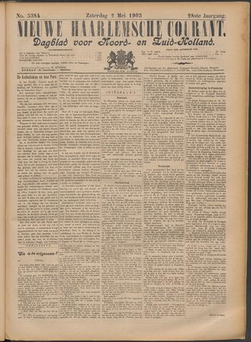 Nieuwe Haarlemsche Courant 1903-05-02