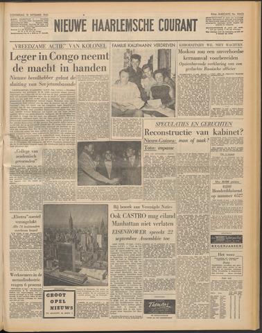Nieuwe Haarlemsche Courant 1960-09-15