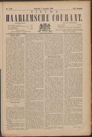 Nieuwe Haarlemsche Courant 1886-09-02
