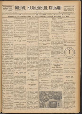 Nieuwe Haarlemsche Courant 1930-04-22