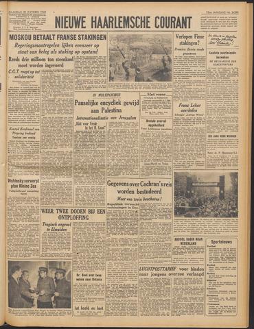 Nieuwe Haarlemsche Courant 1948-10-25