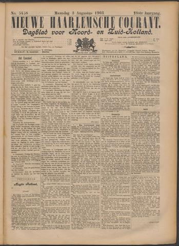 Nieuwe Haarlemsche Courant 1903-08-03