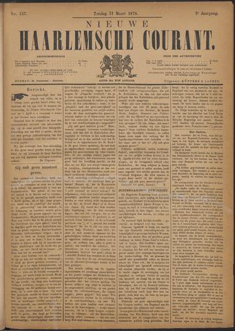 Nieuwe Haarlemsche Courant 1878-03-31